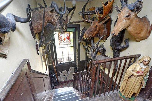 The staircase at Malplaquet House
