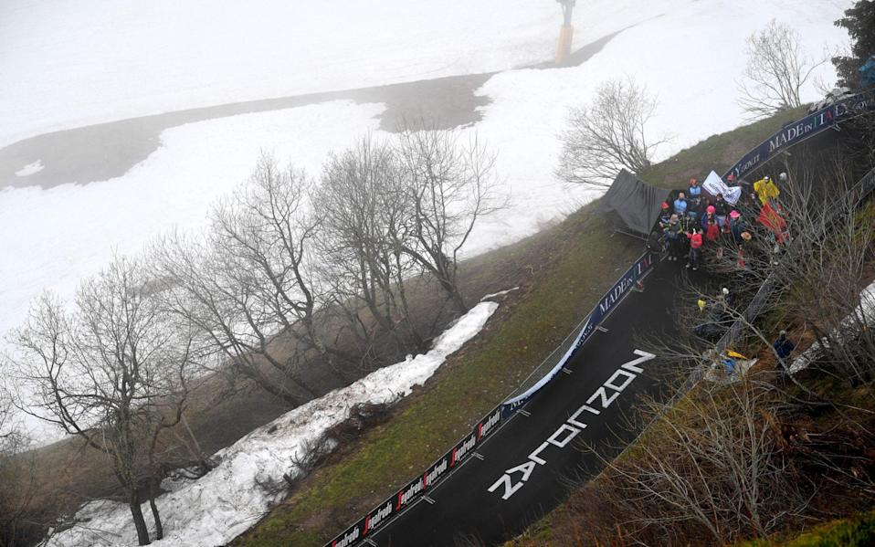 Monte Zoncolan - GETTY IMAGES