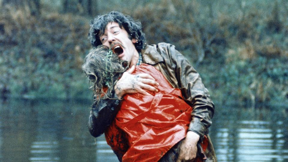 Donald Sutherland portrays a father grieving the loss of his daughter in Nicolas Roeg's classic 'Don't Look Now'. (Credit: Studiocanal)
