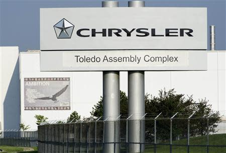 The Chrysler Toledo Assembly Complex is seen in Toledo, Ohio in this file photo taken July 18, 2013. REUTERS/James Fassinger/Files