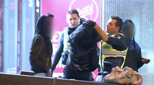 The violence broke out at about 1.30am on Sunday. Source: Sunrise.