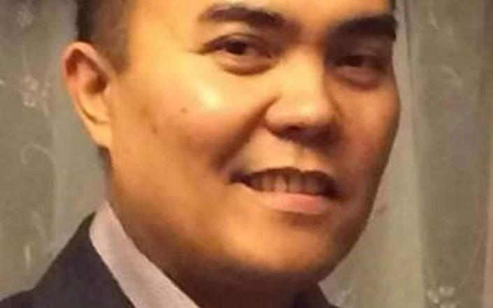 Undated NHS handout photo of nurse Rizal Manalo, who at Glan Clwyd Hospital, who has died after contracting Covid-19. PA Photo. Issue date: Monday June 15, 2020 - NHS/PA Wire