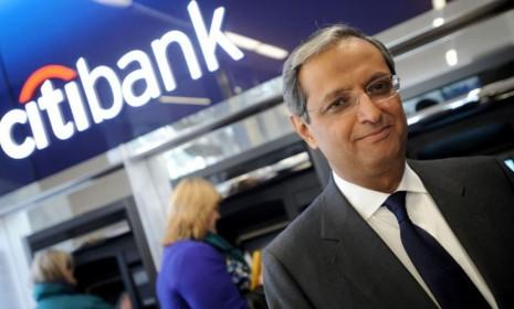 Citigroup CEO Vikram Pandit's abrupt resignation comes just a day after the banking giant reported a better-than-expected quarterly profit.