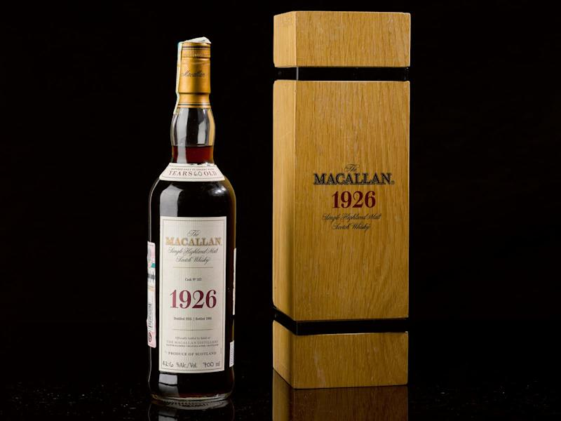Macallan Bottle Sells for Nearly $2 Million—Even Without the Fancy Artwork