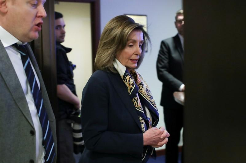As Trump trial starts, Pelosi's star rises with opening of one-woman theatrical show