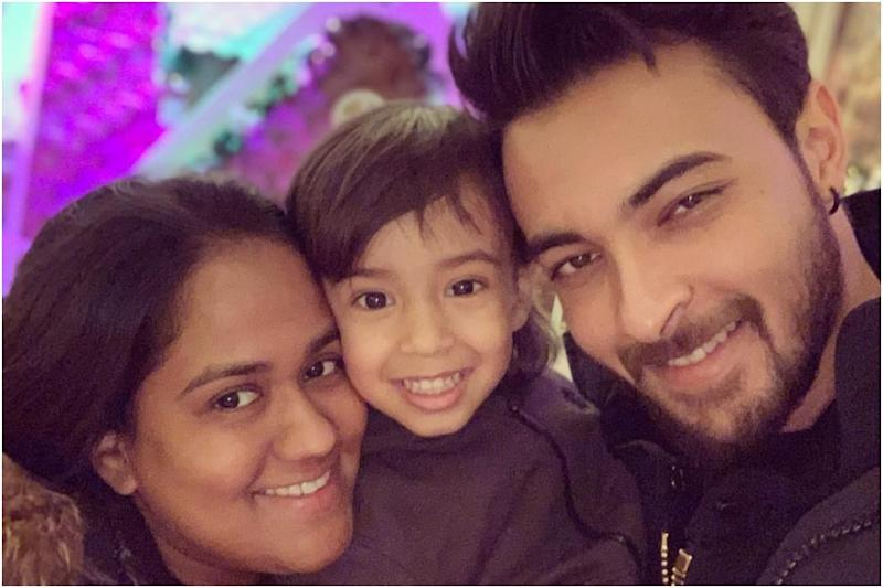 Aayush Sharma Blames Wife Arpita For His 'Added Fat' During Lockdown