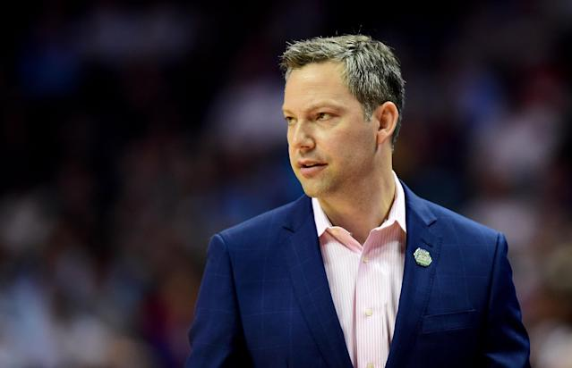UMBC announced that it has reached a deal to retain Ryan Odom as its head basketball coach.  (Getty)