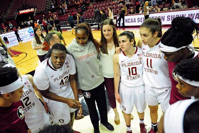 <p><strong>12. Florida State</strong><br>Top 2017-18 sport: softball (national champion). Trajectory: Up. The Seminoles cracked the Top Ten this season, their highest finish in the five-year window of these rankings. And that's despite the school's worst football season in more than four decades. </p>