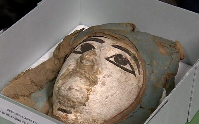 The mysterious mummy of Chiddingstone castle - BBC News