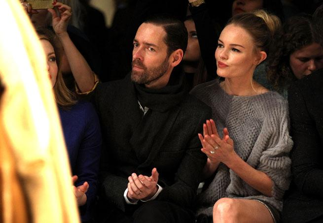 Kate Bosworth at Topshop Unique London Fashion Week Autumn Winter 2013