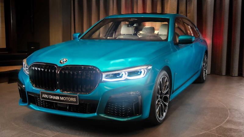 BMW M760Li xDrive Atlantis Blue
