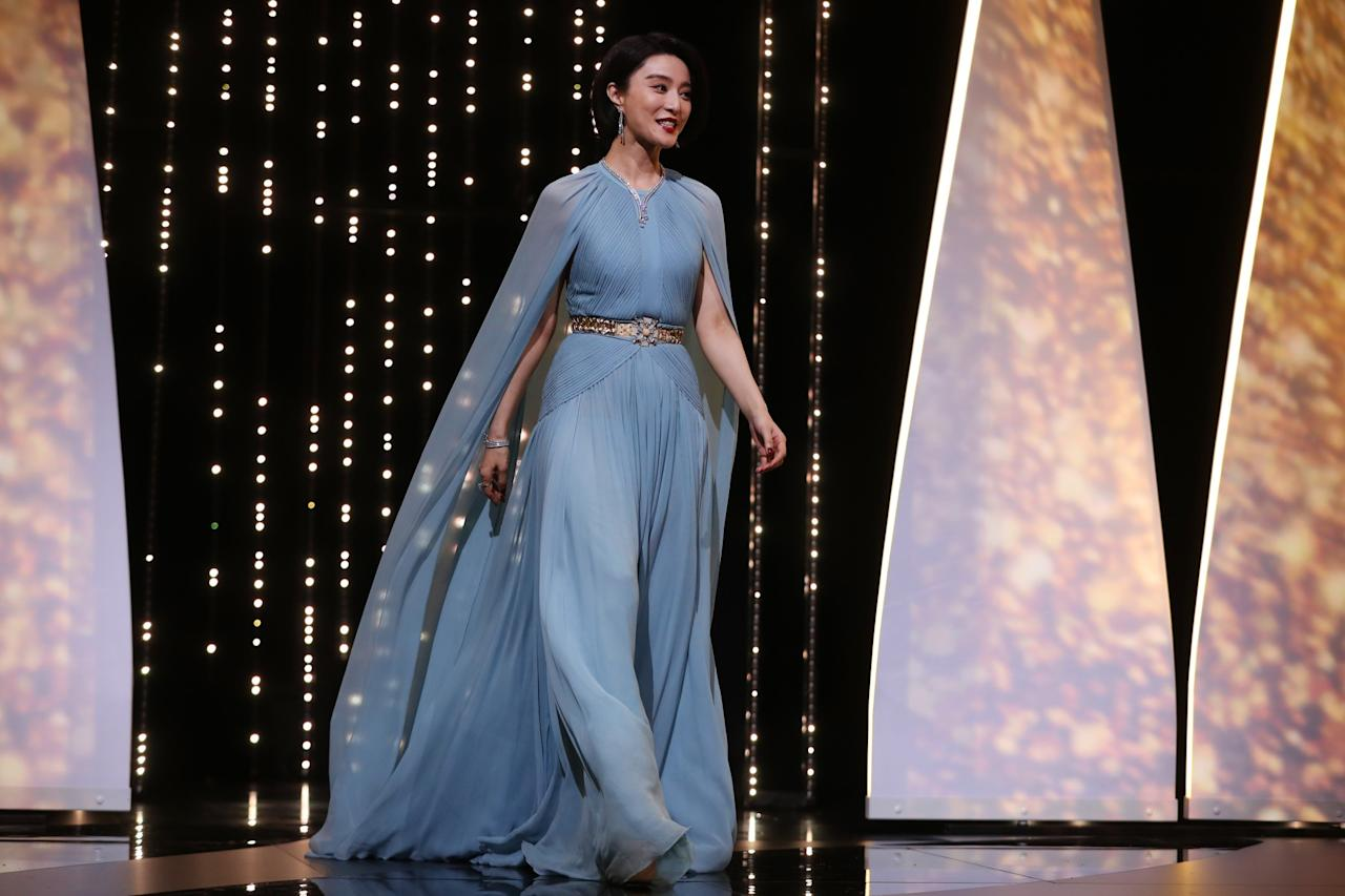 <p>Chinese actress Fan Bingbing clearly had Grace Kelly in mind when planning her big entrance at this year's Cannes film festival. </p>