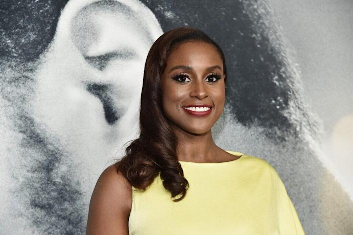 "Issa Rae attends the world premiere of ""The Photograph"" at SVA Theater on February 11, 2020 in New York City. (Photo by Steven Ferdman/Getty Images)"