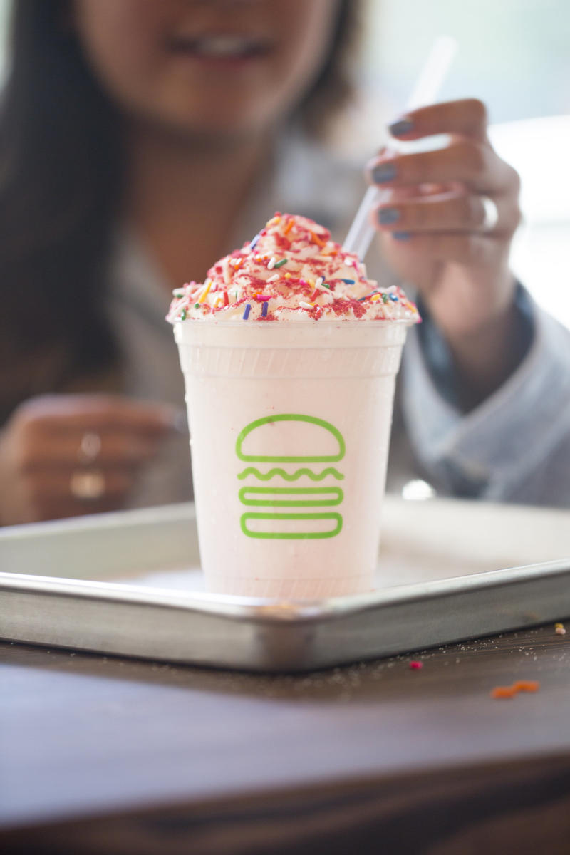 "The ""Jack & Karen"" milkshake  (Shake Shack/NBC)"