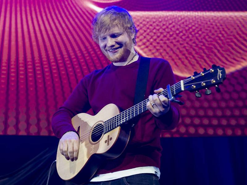 Ed Sheeran and Prince Harry 'unite gingers' for World Mental Health Day