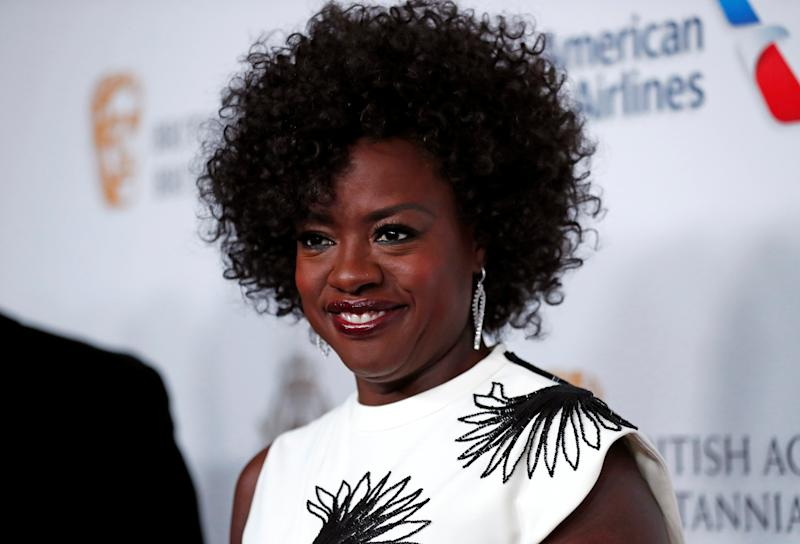 2018 British Academy Britannia Awards - Arrivals - Beverly Hills, California, U.S., October 26, 2018 - Viola Davis poses. REUTERS/Mario Anzuoni