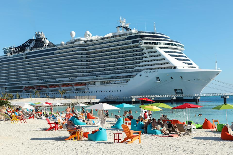 MSC Cruises sails from Florida.