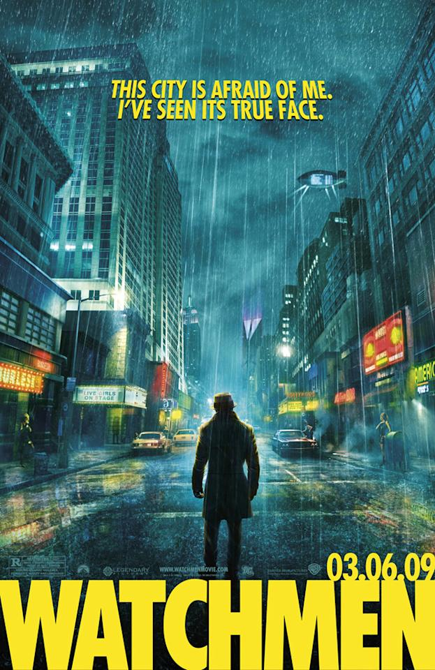 """Warner Bros. Pictures' <a href=""""http://movies.yahoo.com/movie/1808406490/info"""">Watchmen</a> - 2009"""