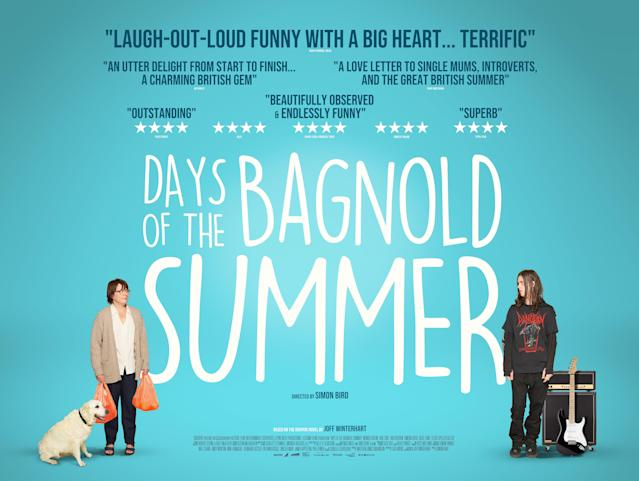 The new UK poster for Simon Bird's <i>Days Of The Bagnold Summer</i>. (Altitude)