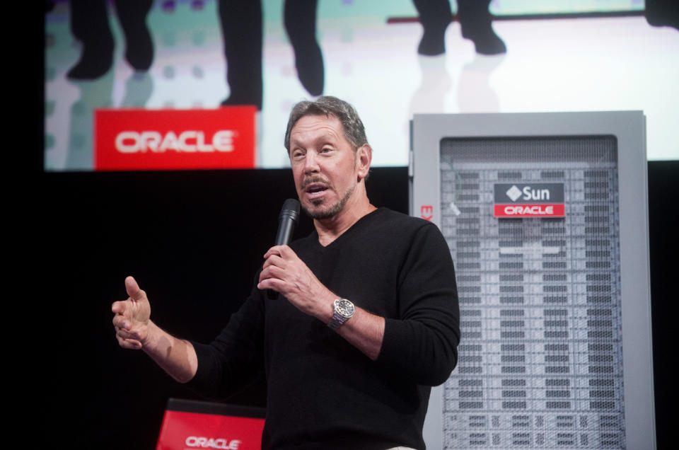 Oracle Corp Chief Executive Larry Ellison