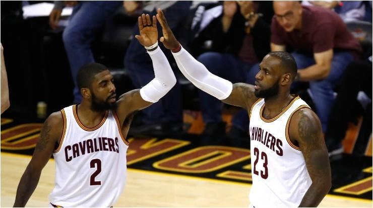 LeBron James y Kyrie Irving (Foto: Getty)
