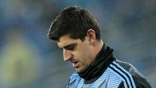 Real Madrid and Thibaut Courtois were handed a huge VAR reprieve late in the first half of their clash with Paris Saint-Germain.