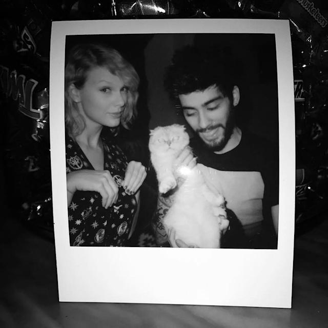 "<p>9. Not only did he sing a song with Taylor Swift (cool), but he got to hang out with her cat (supercool).(Photo: <a href=""https://www.instagram.com/p/BNyEx_rA5SC/?hl=en&taken-by=zayn"" rel=""nofollow noopener"" target=""_blank"" data-ylk=""slk:Zayn Malik via Instagram"" class=""link rapid-noclick-resp"">Zayn Malik via Instagram</a>) </p>"