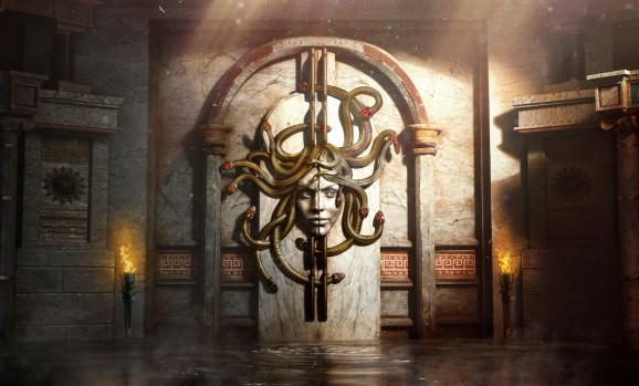 Beyond Medusa's Gate is a VR escape room.