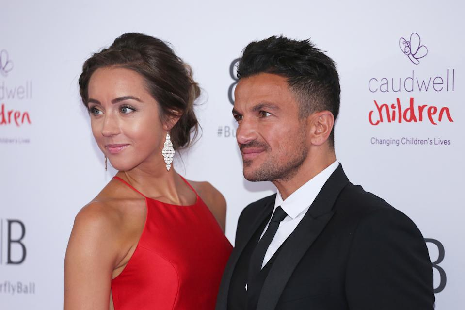 Peter Andre and Emily Andre attending the Butterfly Ball 2019 at Grosvenor House in London. (Photo by Brett Cove/SOPA Images/LightRocket via Getty Images)