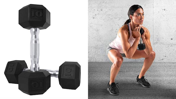 These dumbbells can help you kickstart your strength-training regimen at home.