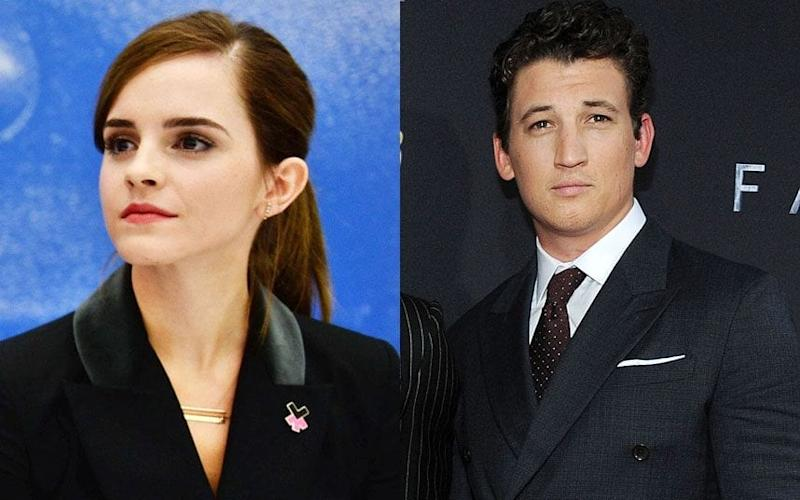 Emma Watson and Miles Teller who missed out on the Oscar-nominated film