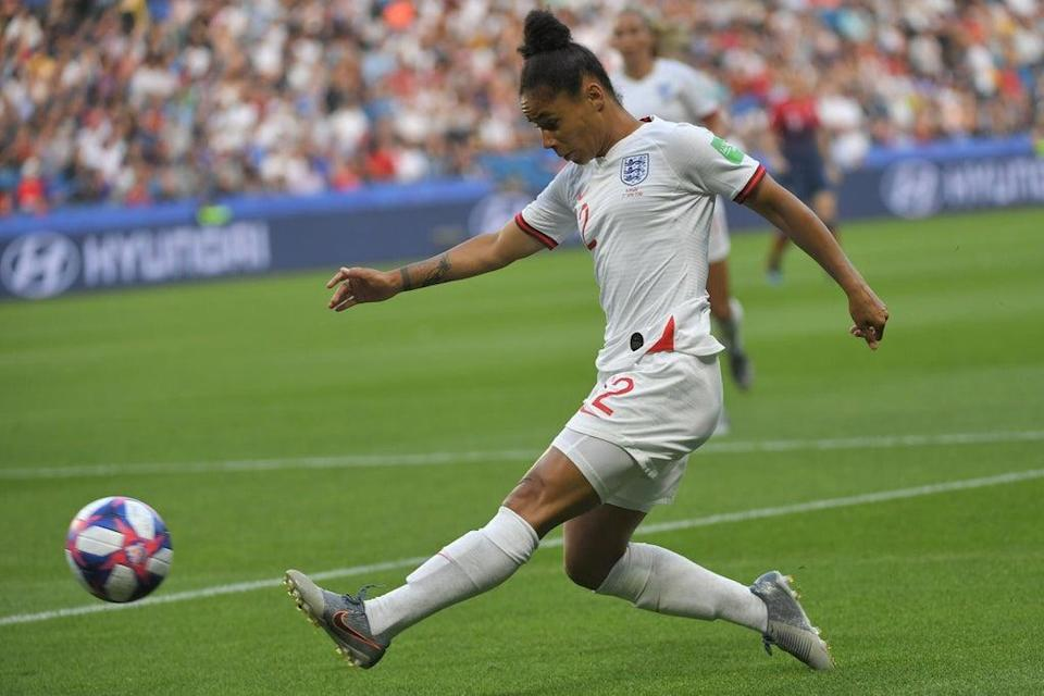 Demi Stokes has said that players are sick of being racially abused (AFP via Getty Images)