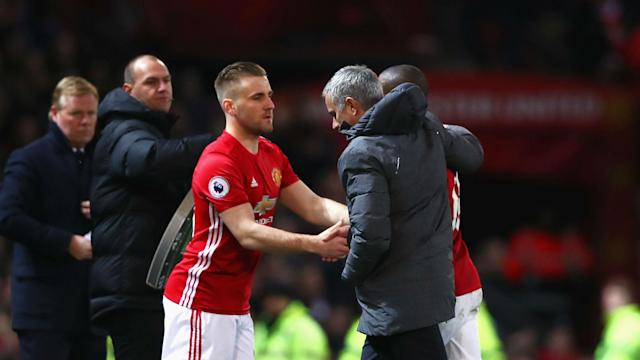 The full-back played a vital role in Manchester United snatching a last-gasp draw, but his manager is still unimpressed.