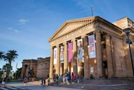 """<p><strong>So, what's this place about?</strong><br> Sydney's premier art destination, the Art Gallery of New South Wales—aka Art Gallery NSW—was established in 1871 and holds court in the leafy Domain near <a href=""""https://www.cntraveler.com/activities/sydney/hyde-park?mbid=synd_yahoo_rss"""" rel=""""nofollow noopener"""" target=""""_blank"""" data-ylk=""""slk:Hyde Park"""" class=""""link rapid-noclick-resp"""">Hyde Park</a>. Its huge classical building is home to a vast collection of fine Australian and international art, including colonial and 19th-century Australian works and European old masters, as well as contemporary creations. It's free to visit the permanent collection of this public gallery, but specific shows are ticketed.</p> <p><strong>How's the space?</strong><br> Spacious, light-filled galleries flaunt views over Sydney Harbour and surrounding parkland. You'll enter by the ticketing and information desk; turn right for the ornate Grand Courts, the historic European and Australian galleries (mainly covering the 15th to 19th centuries, plus some 20th-century European art) or left to see 20th and 21st-century contemporary works by Australian talents. You'll discover more modern art downstairs, plus compelling pieces by Aboriginal artists, and Asian art spread over two floors. The expansive collection covers all media, drawing over a million visitors a year to this major Australian gallery.</p> <p><strong>The art's the main thing, of course. How is it?</strong><br> Highlights include contemporary Australian paintings by Fred Williams, Brett Whiteley, Grace Cossington Smith, Margaret Preston, John Brack, Sidney Nolan, and John Olsen, including depictions of Sydney Harbour Bridge, beach life, local landscapes, and the city. Don't miss 19th-century Australians Eugene von Guérard, Tom Roberts, and Arthur Streeton. While the permanent collection is a must-see, the changing exhibitions bag the headlines. The annual Archibald Prize, featuring portraits by Australian artists, is always a """