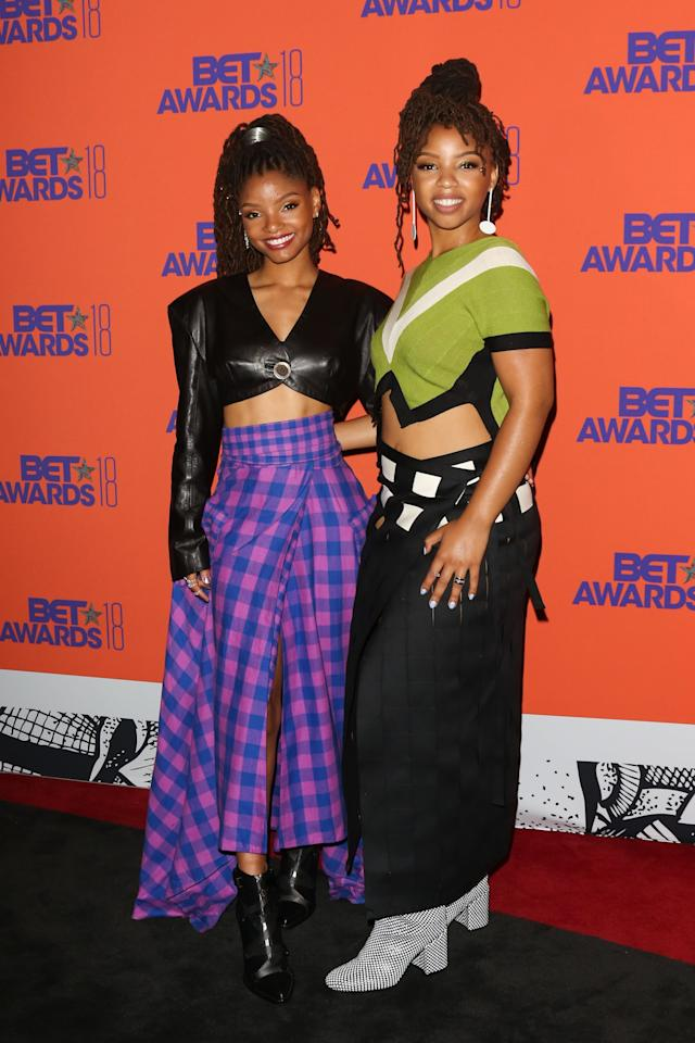 <p>Chloe x Halle are quickly rising to fame, thanks in part to their hit new album and their eye-catching outfits, which often coordinate.</p>