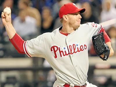 Roy Halladay leads the league in innings, strikeouts, complete games and shutouts
