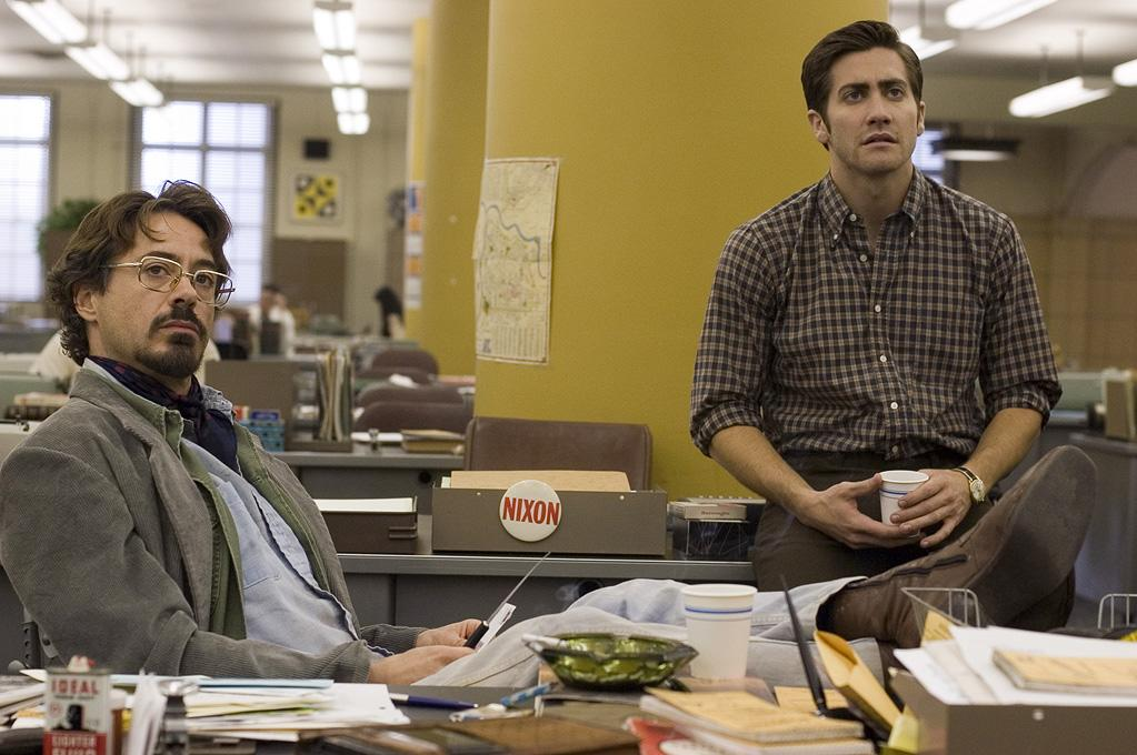 "<a href=""http://movies.yahoo.com/movie/1809233125/info"">ZODIAC</a> (2007)    Jake went back to the twee side as the nerdy San Francisco cartoonist who obsessed over the famed serial killer."