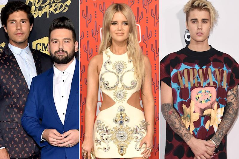 Academy of Country Music Awards nominations include Maren Morris, Dan + Shay, Justin Bieber