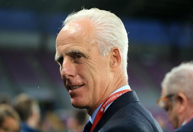 Former Republic of Ireland manager Mick McCarthy was Jack Charlton's captain at Italia '90