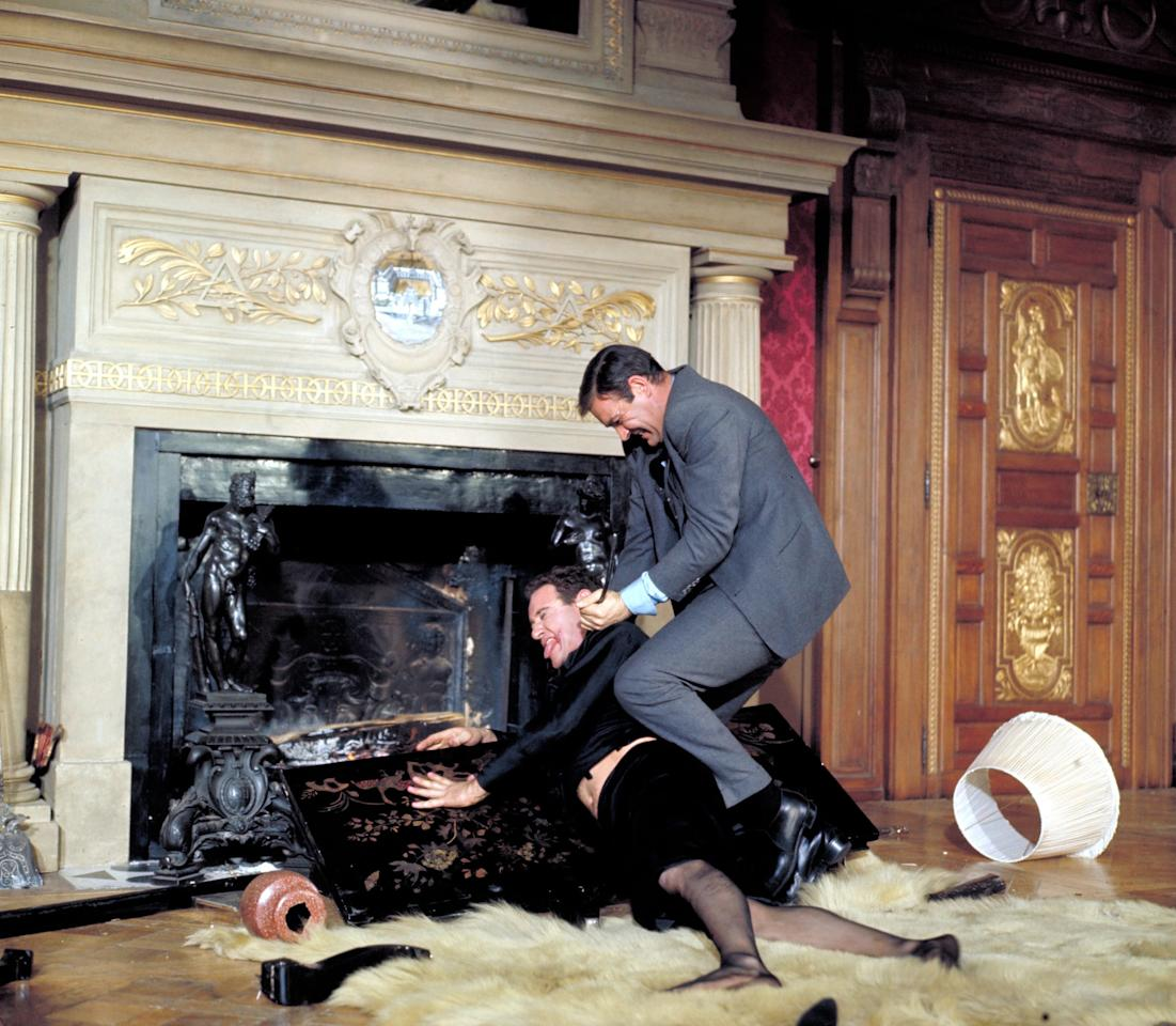 <p>Connery continued playing Bond in <strong>Thunderball</strong>, going up against SPECTRE again, this time in the form of Emilio Largo (Adolfo Celi), an operative plotting to steal and hold ransom two atomic bombs. </p>