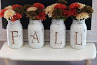 """<p>It's the simple decorations that puts everything into perspective. </p><p><strong>Get the tutorial at <a href=""""http://www.myanythingandeverything.com/fall-mason-jar-vases/"""" rel=""""nofollow noopener"""" target=""""_blank"""" data-ylk=""""slk:My Anything & Everything"""" class=""""link rapid-noclick-resp"""">My Anything & Everything</a>.</strong></p><p><a class=""""link rapid-noclick-resp"""" href=""""https://www.amazon.com/Ball-Pint-Jar-Regular-Mouth/dp/B01NBMPHYV/?tag=syn-yahoo-20&ascsubtag=%5Bartid%7C10050.g.1371%5Bsrc%7Cyahoo-us"""" rel=""""nofollow noopener"""" target=""""_blank"""" data-ylk=""""slk:SHOP MASON JARS"""">SHOP MASON JARS</a></p>"""