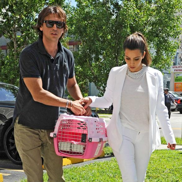 Kourtney Kardashian Slaps Jonathan Cheban After He Says: 'Without Kim You'd Be Nothing'