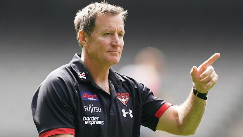 Essendon coach John Worsfold will speak about the Conor McKenna situation for the first time