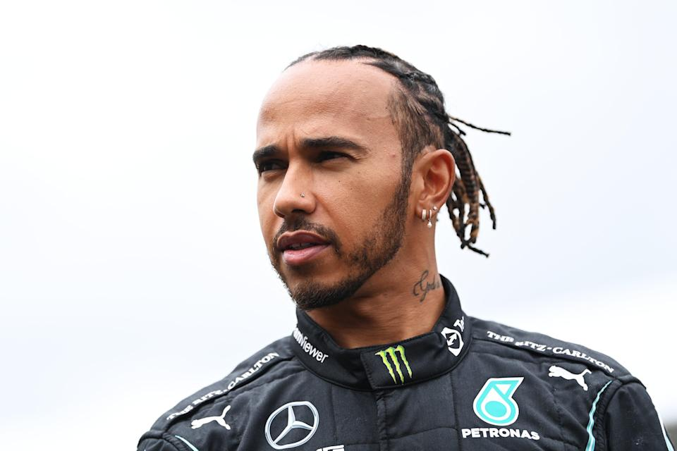 Lewis Hamilton finished third in Hungary, though was later promoted to second place (Getty Images)