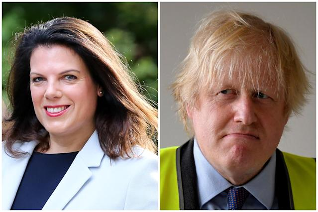 Caroline Nokes has said her former cabinet colleague Boris Johnson eased the coronavirus lockdown in favour of men. (Getty Images/AP)
