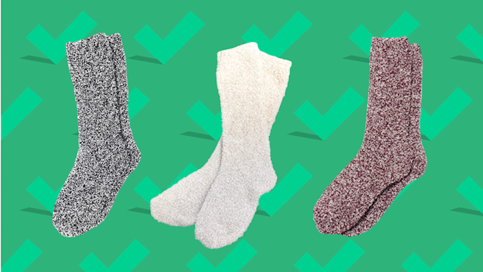 Gifts for wives 2020: Barefoot Dreams CozyChic Heathered Socks