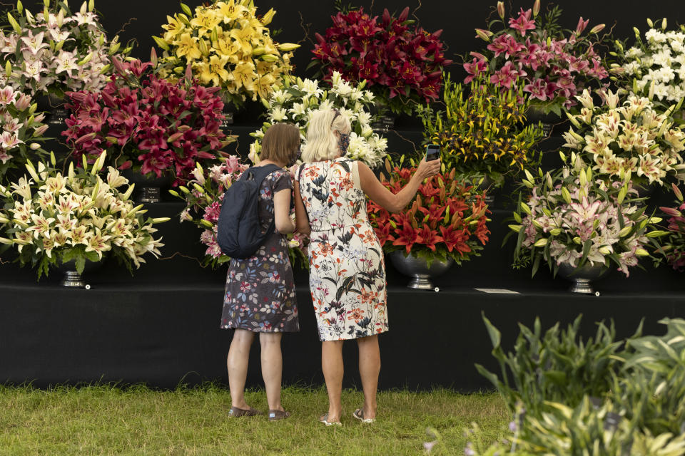 Hampton Court Garden Festival, on July 05, 2021 in East Molesey, England. (Photo by Dan Kitwood/Getty Images)
