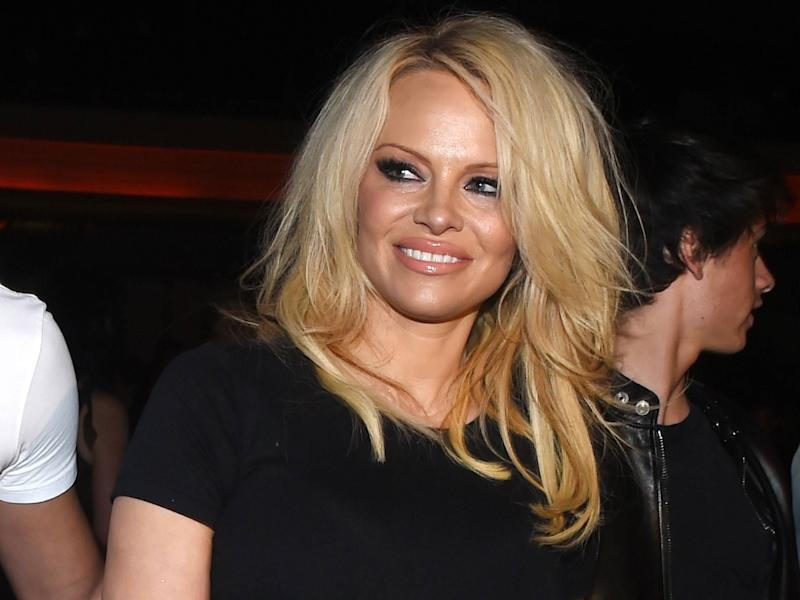 Pamela Anderson: Getty