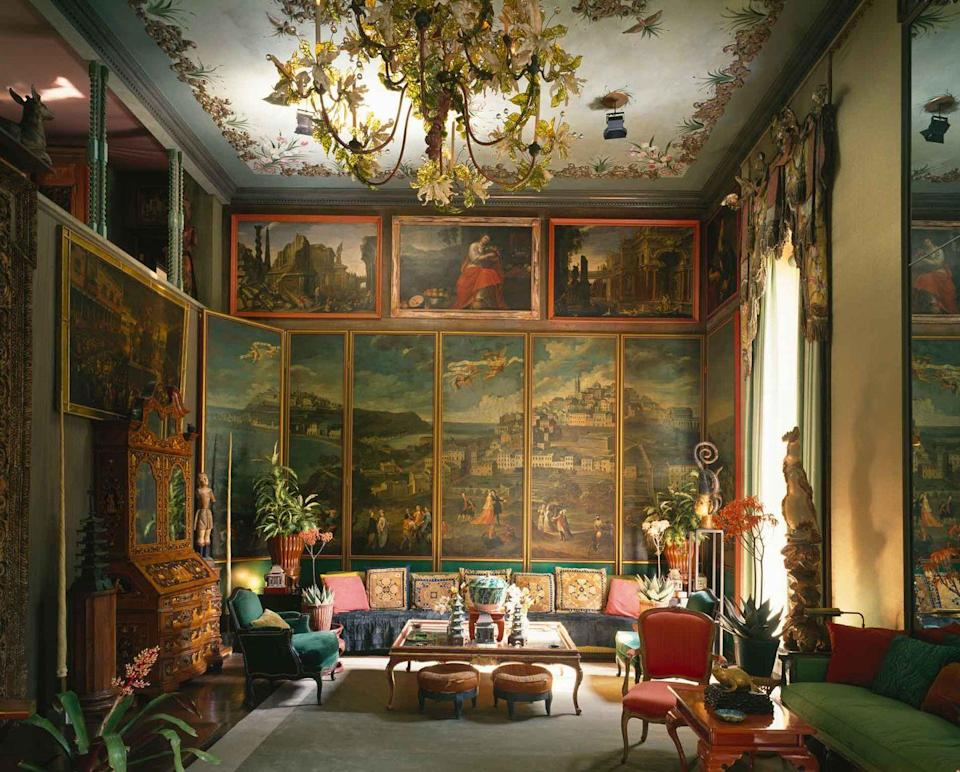 "<p>Given his larger-than-life style, it should come as no surprise that Duquette began his career as a set decorator. A graduate of the Yale School of Theater, Duquette created fantastical costumes and backdrops for movies from the 1930s to '60s. An avid traveler, he was known to incorporate both themes inspired from far-flung locales as well as items brought back from abroad. Duquette owned many homes, but the masterpiece is Dawnridge, the Los Angeles estate where he spent most of his time and which is now <a href=""https://www.housebeautiful.com/design-inspiration/a33629488/interior-designer-legacy-dorothy-draper-sister-parish-tony-duquette/"" rel=""nofollow noopener"" target=""_blank"" data-ylk=""slk:maintained by his protégé, Hutton Wilkinson."" class=""link rapid-noclick-resp"">maintained by his protégé, Hutton Wilkinson. </a></p>"