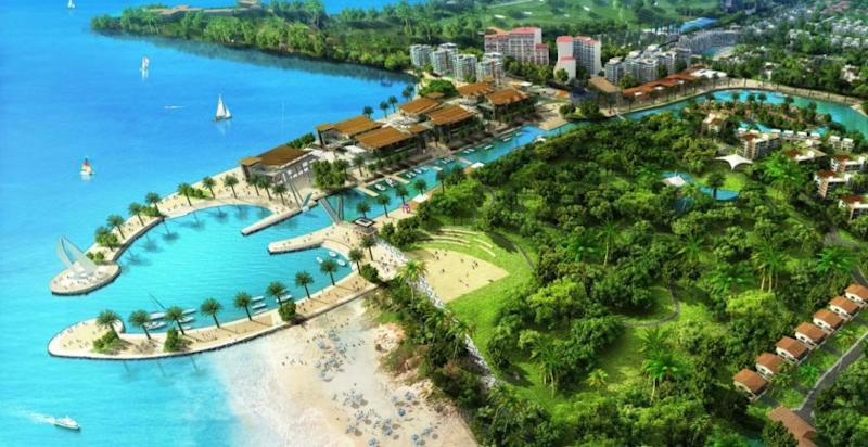 The Tanjung Aru Eco Development was a mega project mooted by the previous Barisan Nasional administration to makeover the popular beach front location. — File picture by Julia Chan